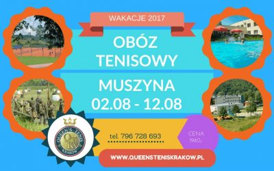 OBÓZ TENISOWY LETNI 2017 Z QUEEN'S TENIS KRAKÓW!
