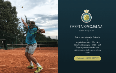 OFERTA SPECJALNA SEZON 2018/2019!